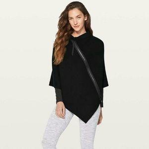 Lululemon Zipper Sweater Poncho